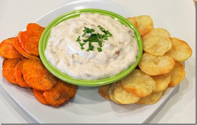 Fried Onion Dip--The New Midwestern Table 10-27-13