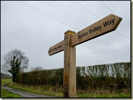 Signposting on the Bollin Valley Way