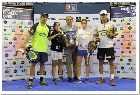 Reyes y Reinas: Díaz-Belasteguín & Montes-Salazar campeones en el Estrella Damm WPT Open Sevilla 2014