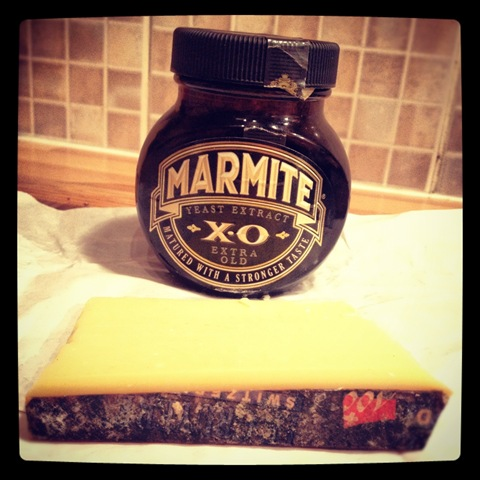 #184 - cheese and Marmite