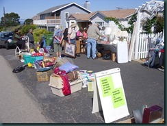 Dog park garage sale, Val's garden 013