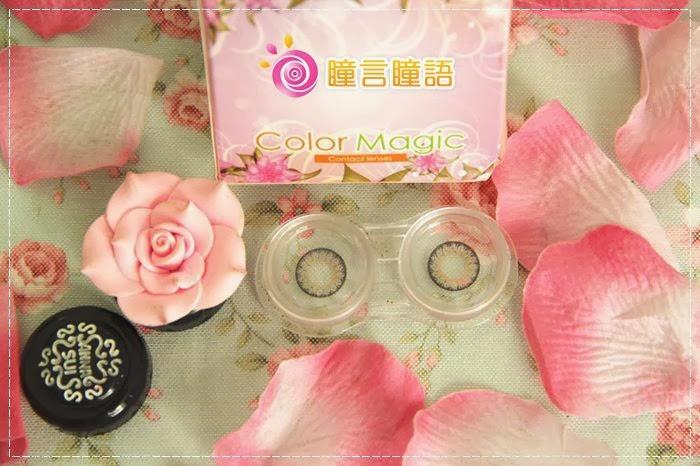 韓國GEO隱形眼鏡-GEO Eyes Cream 霜淇淋灰3