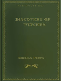 Cover of Thomas Potts's Book Discovery Of Witches