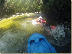 Riverboarding Sungai sedim