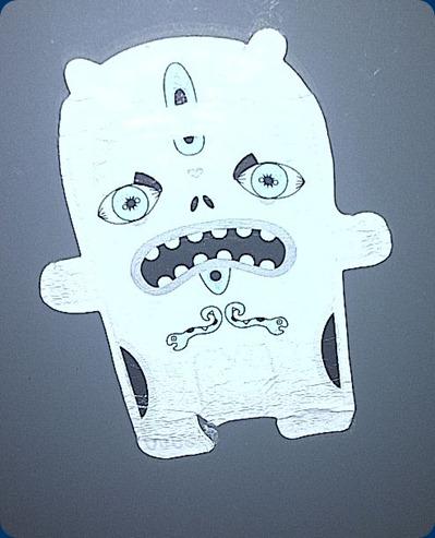 postal box sticker