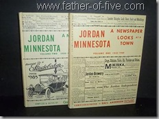 Jordan Minnesota - A Newspaper Looks at a Town
