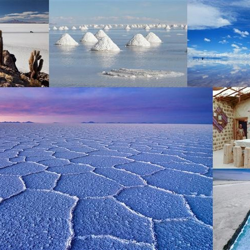 Salar de Uyuni in Boliva: World's Largest Salt Flat