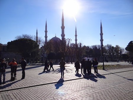 Obiective turistice Istanbul: Moscheea Albastra