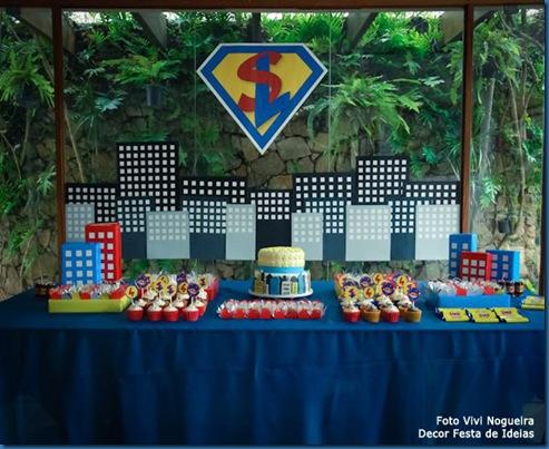 Mesa criada por mim para o meu super heroi