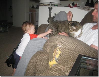 07 31 11 - Petting Avery