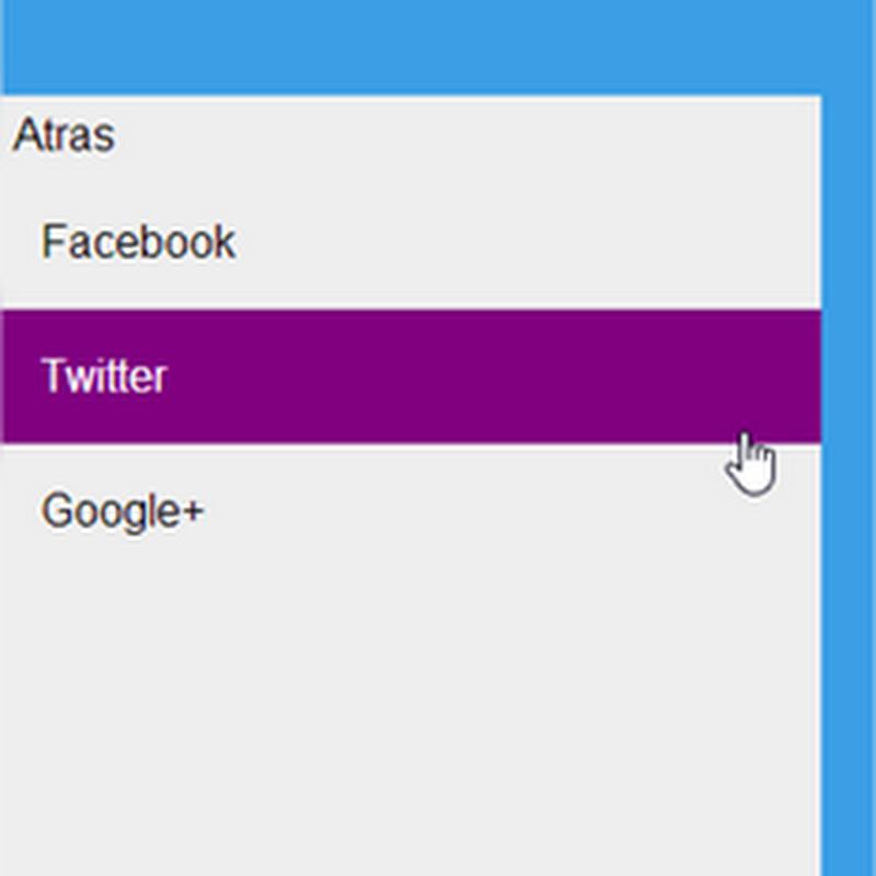 Cómo crear un menú estilo Windows 8 con CSS y jQuery