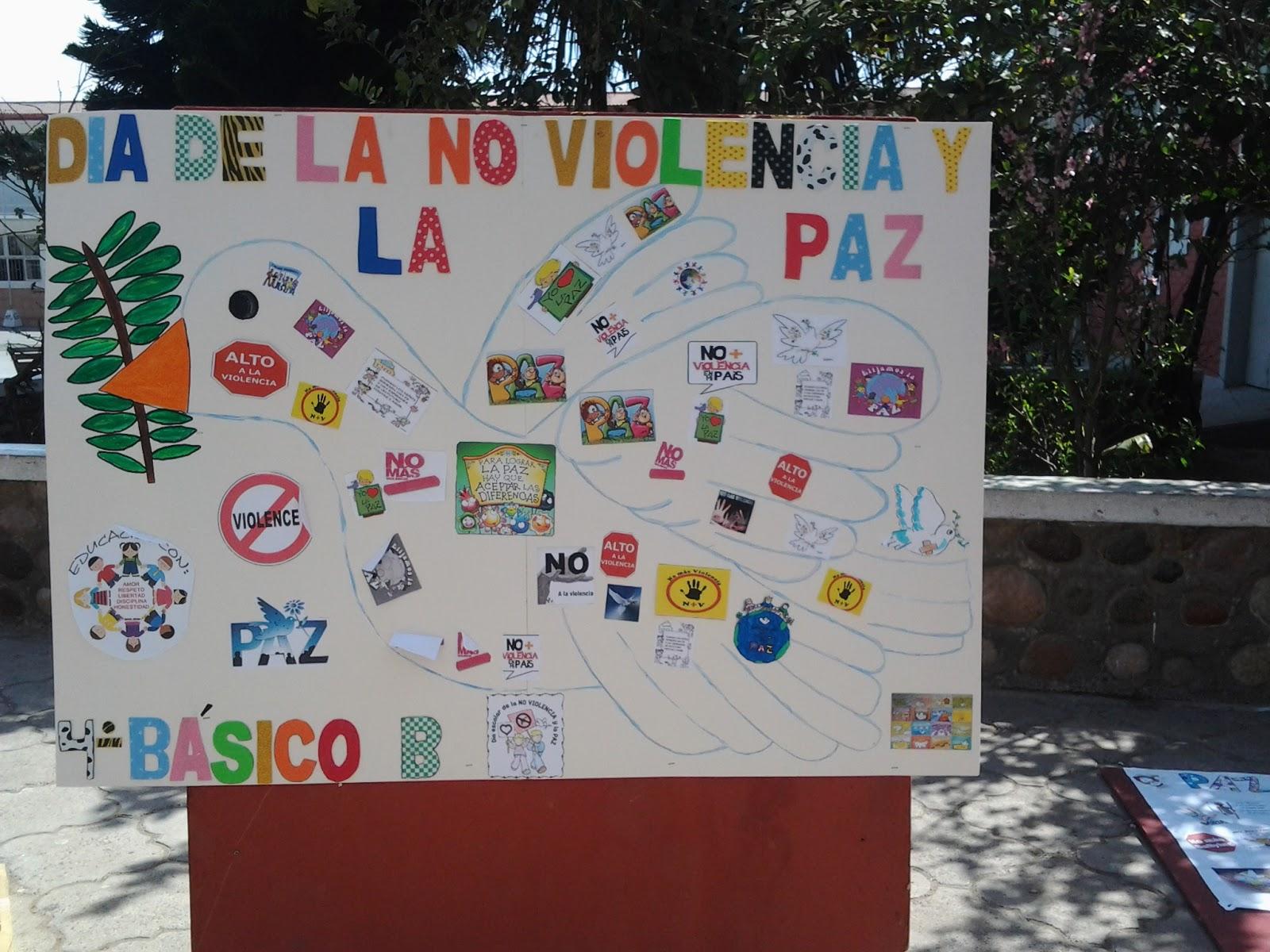 Ninoska mart nez mu oz d a de la no violencia y la paz for Diario mural fiestas patrias chile