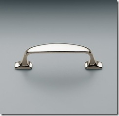 restoration hardware bistro pull in satin nickle