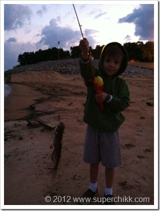 First Fish!