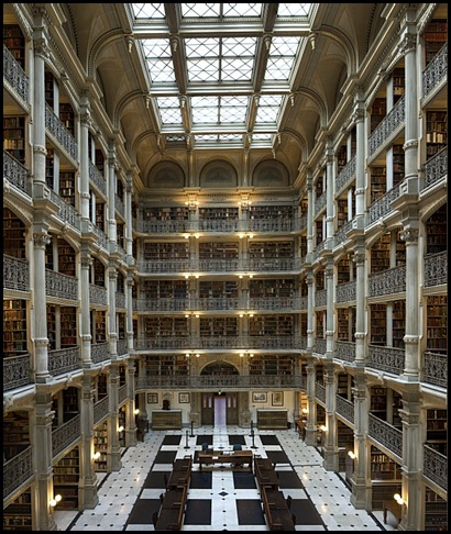 Bibliothèque George Peabody, Baltimore, Maryland, USA .4129