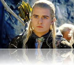 Legolas the elven hero who fought against forces of Sauron