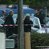 2007: Le ministre Rubalcaba à Capbreton(40) sur les lieux de l'attentat contre deux policiers espagnols