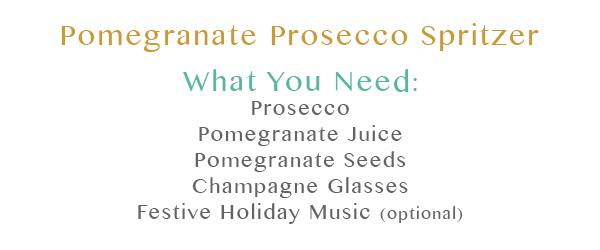 Pom Prosecco Spritzer Recipe