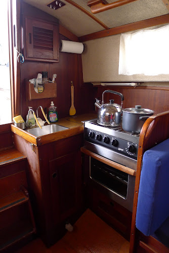 Nová plně funkční kuchyňka