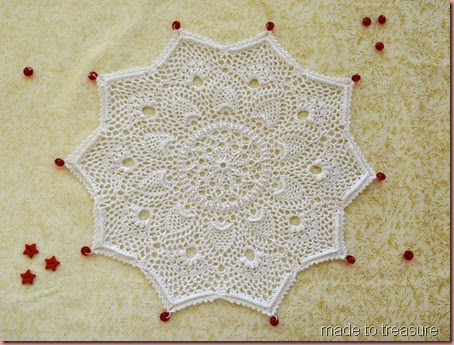 doily for christmas