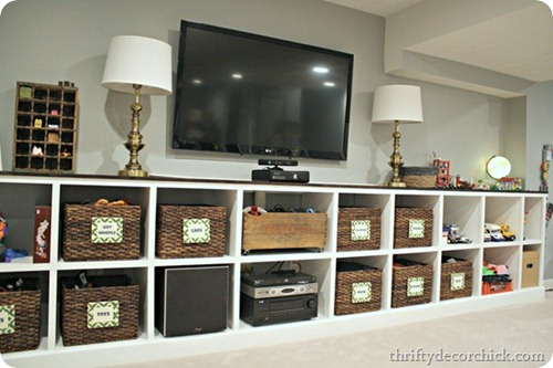 cubby built ins toy organization