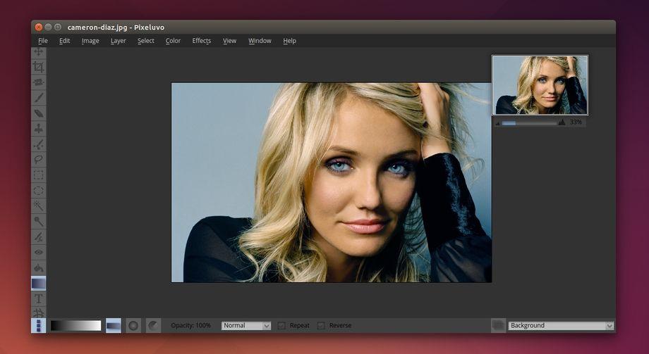 Pixeluvo in Ubuntu
