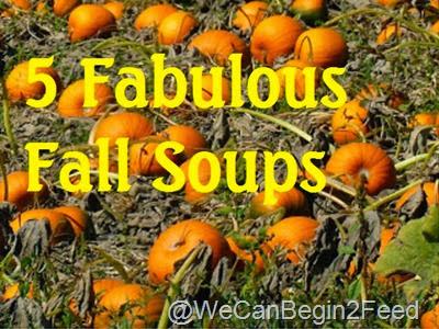 5 Fabulous Fall Soups