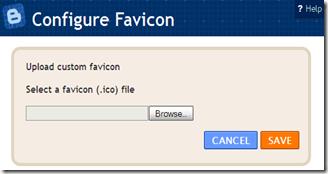 Upload a custom favicon