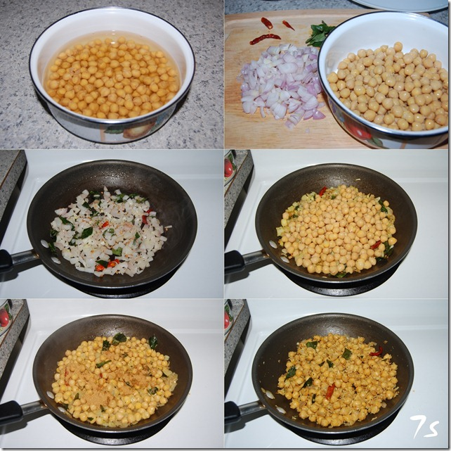 Masala sundal process