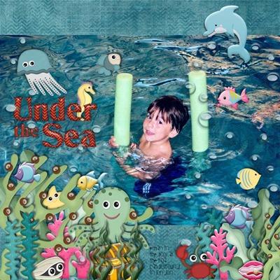 MMTS & GPS - Treasures - Under the Sea
