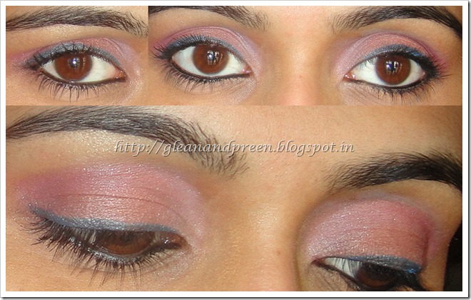 Pink and Peach Eye Makeup