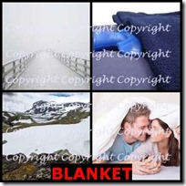 BLANKET- 4 Pics 1 Word Answers 3 Letters