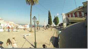 Le tram 9 fait la liaison entre les endroits les plus ontéressants de Lisbonne