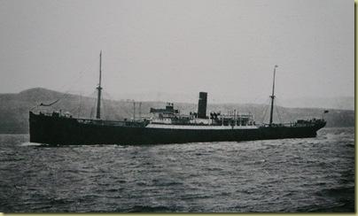 BBN Numidia at sea