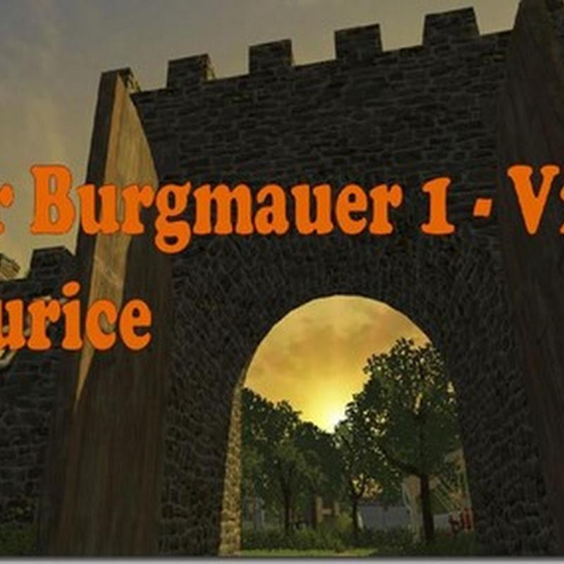 Farming simulator 2013 - The castle wall 1 v 2.0 (mappa castelli)
