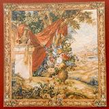 Gobelin 9029, Bouquet au drape, 150x150cm