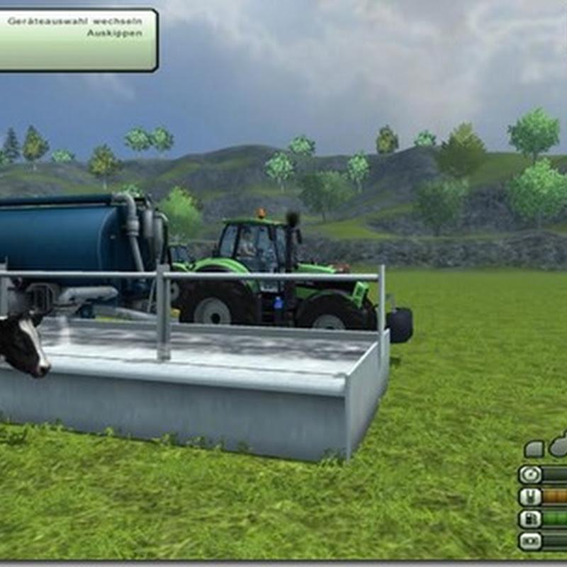 Farming simulator 2013 - CowWaterMod V 1.5 (Abbeveratoi)