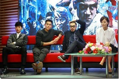 2014.11.18 Eddie Peng during Rise of the Legend - 彭于晏 黃飛鴻之英雄有夢 做客新浪 04