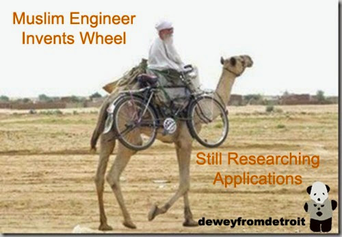 muslim Invents wheel-researching