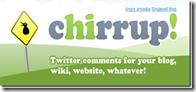 Twitter-chirrup