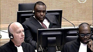 Le snateur Jean-Pierre Bemba  la Haye.