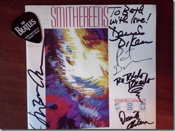 Smithereens signed