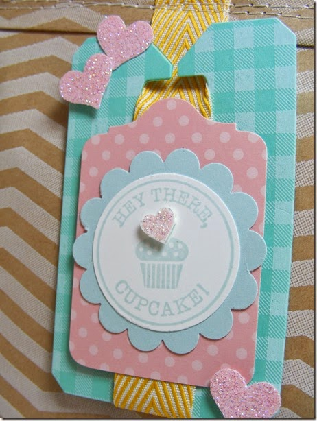 LeAnne Pugliese WeeInklings Stampin Up Num Num Tag