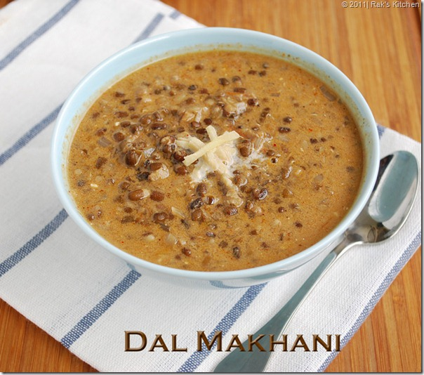 Dal-makhani recipe