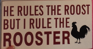 Rooster sign 2