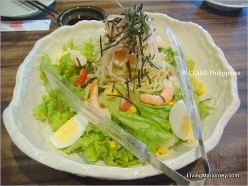 Sapporo Seafood Ramen Salad ( P375)