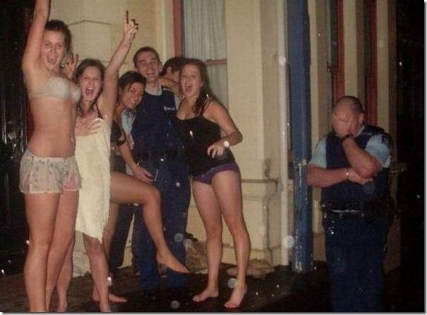 Até a policia acha que a juventude está perdida