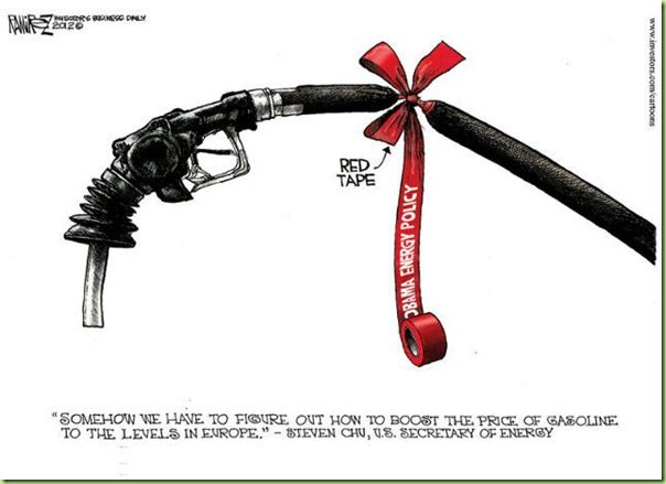 red tape on our drilling
