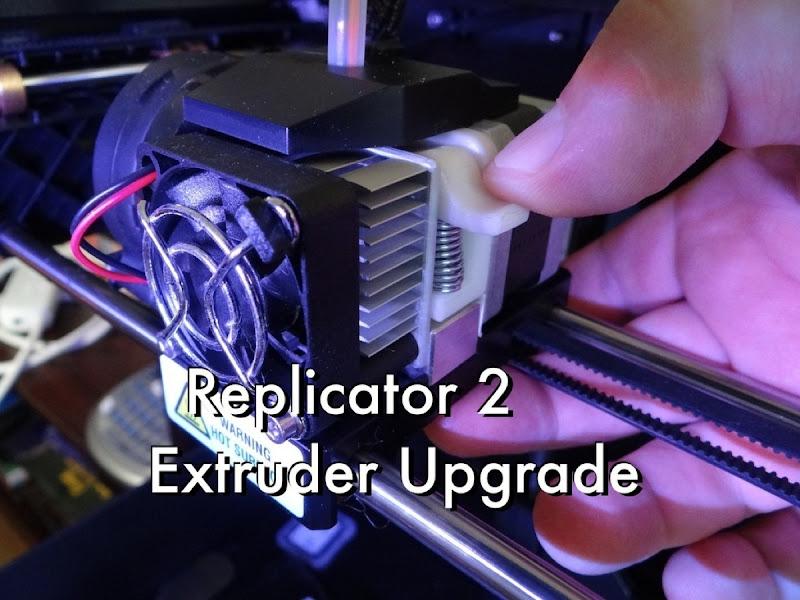 Replicator 2 Extruder Upgrade 01 display large