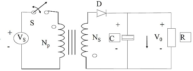 As there is tight magnetic coupling between both coils of the inductor, it is no longer necessary to have them linked electrically, also not really necessary to have same number of turns on each winding. Re-arranging winding polarity